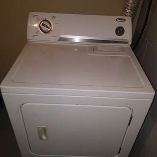 Washer and dryer both