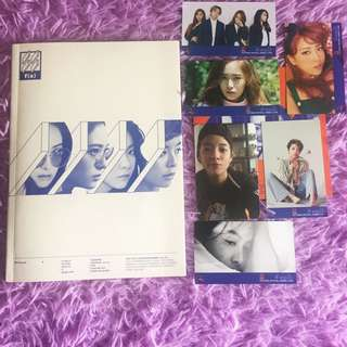 f(x) 4 WALLS album Krystal cover