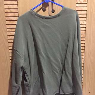 [PRELOVED] BASICS SWEATER PULL AND BEAR