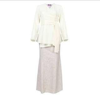 oversized asha blouse n skirt set