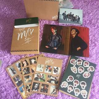 GOT7 MAD Winter Edition album