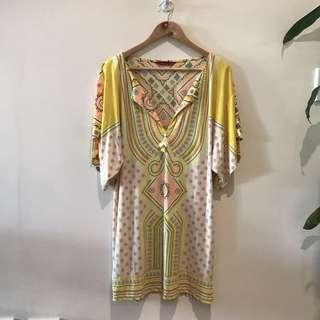 *Tigerlily* Multi Colour Print Dress - Fits M/L