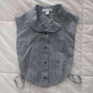 COS inner collar shirt
