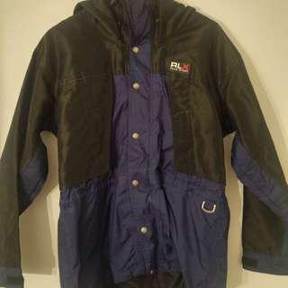 Rare Vintage Polo Sport Ralph Lauren Shell Fall Jacket Sz Medium