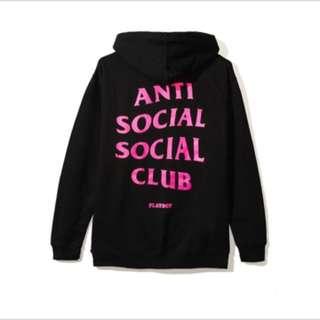 Anti Social Social Club x Playboy - Hoodie (M)