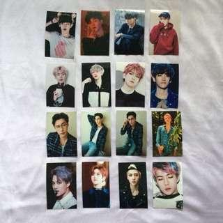 EXO Kpop Photocards PC Unique