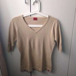Levi's Stretch Mocca Top