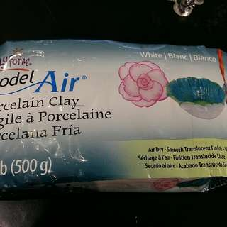 (500g)Sculpey Air Dry Porcelaine Clay