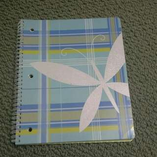 Large Cute Butterfly Notebook