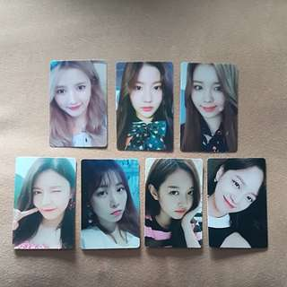 [INSTOCK] GUGUDAN MMT PHOTOCARDS
