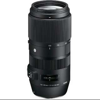 Sigma 100-400mm f/5-6.3 DG OS HSM Contemporary Lens for Canon EF  and nikon F