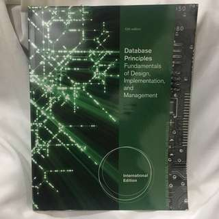 Database Principles Fundamentals of Design, Implementation, and Management