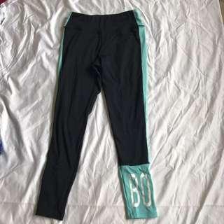 Sports running leggings SZ L Bonds