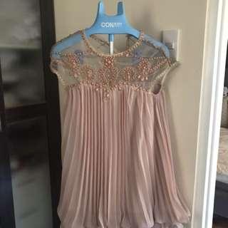 Beaded semi formal dress NEW