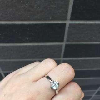 Diamond ring color E 0.5 carat 鑽石戒指