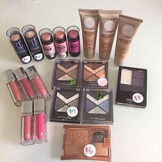 Maybelline Make up - $5ea Brand NEW