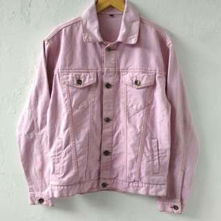 JACKET JEANS FLAWLESS BABY PINK