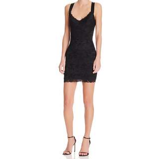 Guess szM black lace cocktail dress