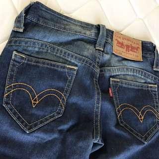 Levi's刷色牛仔褲