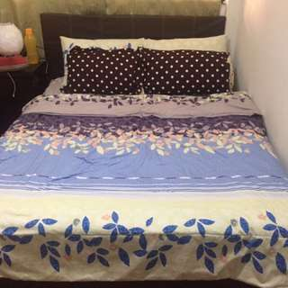 Pre loved Bed frame and Matress @ &250
