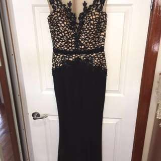 Evening gown size 8