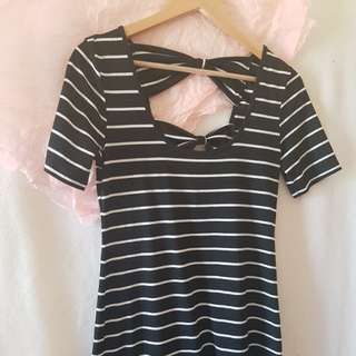 Black & White Dotti Dress