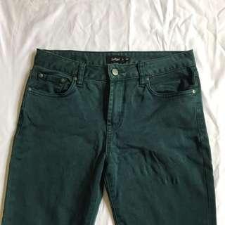 Green jeans SZ 11