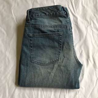 Crop mum jean sz 10 just jeans