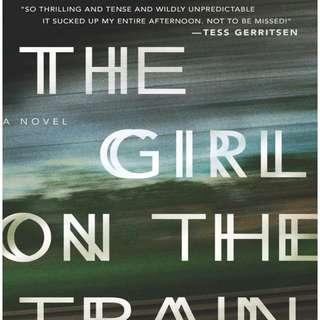 The Girl On The Train -Paula Hawkins