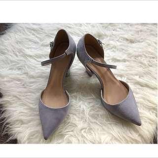 asos Lilac Heels Size 5 Au