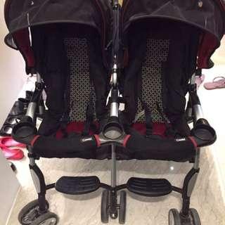 Combi 雙人嬰兒推車