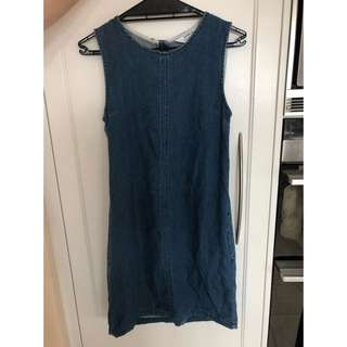 Miss Selfridge denim dress
