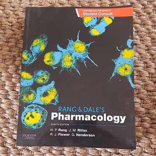 Pharmacology Rang & Dales textbook