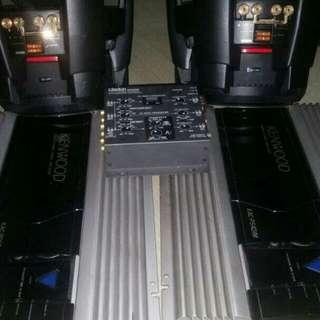 Kenwood speaker sound system