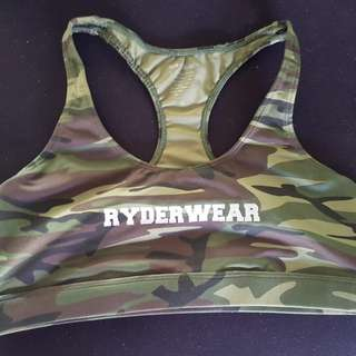Ryderwear Camo Crop