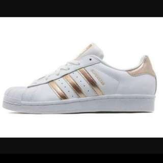 Rose gold adidas originals superstar