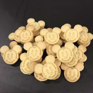 Mickey mouse butter cookies