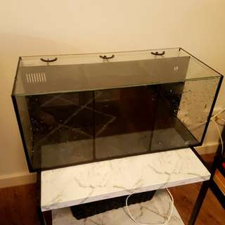 3 section fish tank