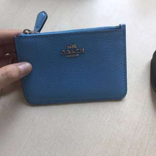Authentic Coach coin bag