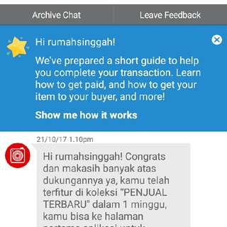 Carousell :)