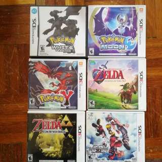 Nintendo 3ds + ds game(s)