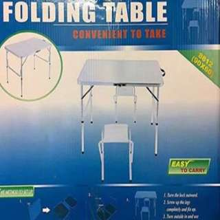 Folding Table (CHAIR NOT INCLUDED)