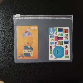 Pooh Winnie Ezlink Card Set