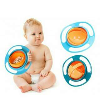 Free Postage !! Baby Feeding Bowl 360 Rotate Spill
