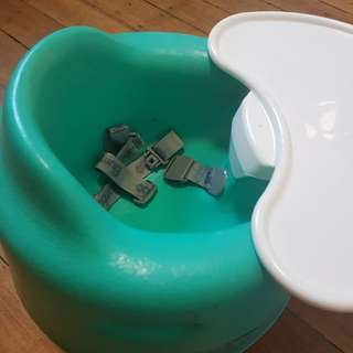 Bumbo floor seat & tray