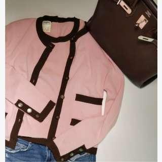 Chanel Vintage Cashmere Cardigan Set