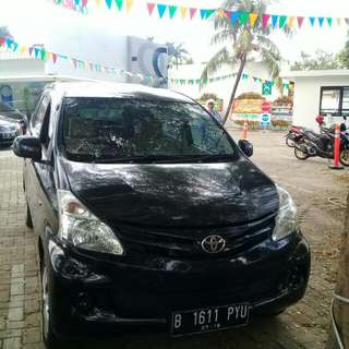 Toyota avanza 2013 Type E hitam manual
