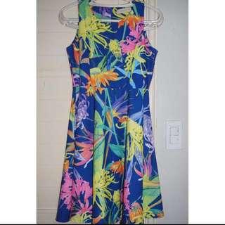 (REPRICED) Printed Sunday Dress