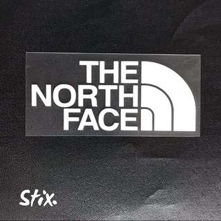 The North Face Vinyl Cut Sticker