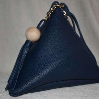Elegant Triangle Pouch
